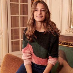 Sezane Winnie sweater jumper size medium